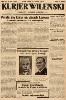 Kurjer Wileński : niezależny dziennik demokratyczny. 1936, nr105