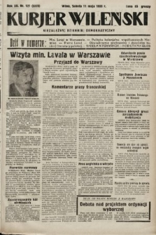 Kurjer Wileński : niezależny dziennik demokratyczny. 1935, nr127