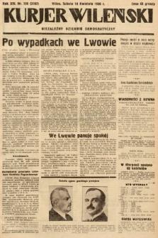 Kurjer Wileński : niezależny dziennik demokratyczny. 1936, nr106