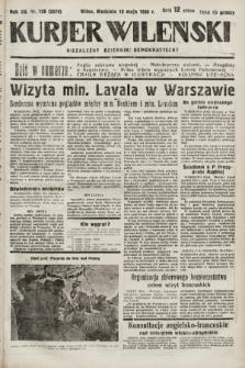 Kurjer Wileński : niezależny dziennik demokratyczny. 1935, nr128
