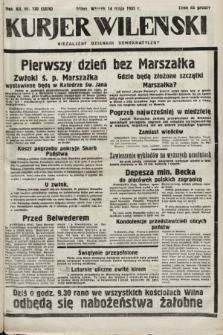 Kurjer Wileński : niezależny dziennik demokratyczny. 1935, nr130