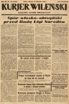 Kurjer Wileński : niezależny dziennik demokratyczny. 1936, nr109