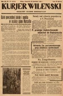 Kurjer Wileński : niezależny dziennik demokratyczny. 1936, nr111