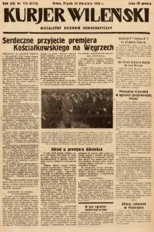 Kurjer Wileński : niezależny dziennik demokratyczny. 1936, nr112