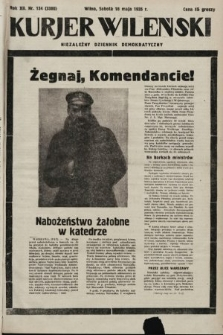 Kurjer Wileński : niezależny dziennik demokratyczny. 1935, nr134
