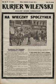 Kurjer Wileński : niezależny dziennik demokratyczny. 1935, nr135