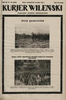 Kurjer Wileński : niezależny dziennik demokratyczny. 1935, nr136