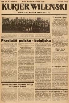 Kurjer Wileński : niezależny dziennik demokratyczny. 1936, nr116