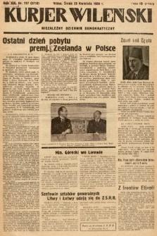 Kurjer Wileński : niezależny dziennik demokratyczny. 1936, nr117