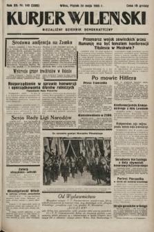 Kurjer Wileński : niezależny dziennik demokratyczny. 1935, nr140