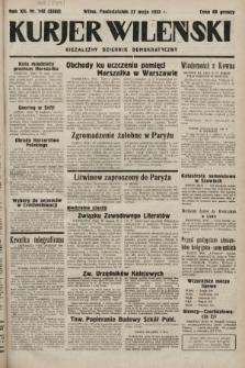 Kurjer Wileński : niezależny dziennik demokratyczny. 1935, nr143