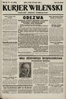 Kurjer Wileński : niezależny dziennik demokratyczny. 1935, nr145