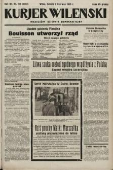 Kurjer Wileński : niezależny dziennik demokratyczny. 1935, nr148