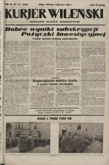 Kurjer Wileński : niezależny dziennik demokratyczny. 1935, nr151
