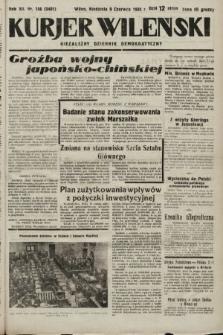 Kurjer Wileński : niezależny dziennik demokratyczny. 1935, nr156