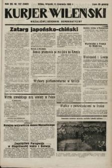 Kurjer Wileński : niezależny dziennik demokratyczny. 1935, nr157