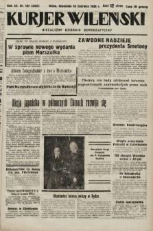 Kurjer Wileński : niezależny dziennik demokratyczny. 1935, nr162