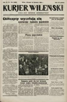 Kurjer Wileński : niezależny dziennik demokratyczny. 1935, nr164