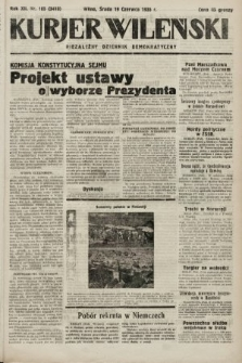 Kurjer Wileński : niezależny dziennik demokratyczny. 1935, nr165