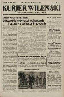Kurjer Wileński : niezależny dziennik demokratyczny. 1935, nr166