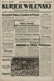Kurjer Wileński : niezależny dziennik demokratyczny. 1935, nr168