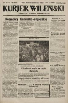 Kurjer Wileński : niezależny dziennik demokratyczny. 1935, nr169