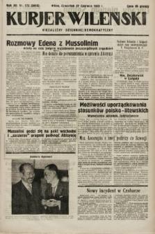 Kurjer Wileński : niezależny dziennik demokratyczny. 1935, nr173
