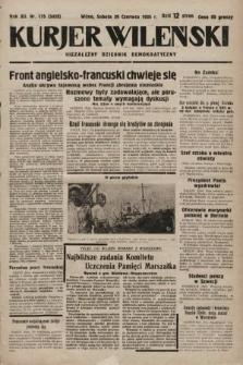 Kurjer Wileński : niezależny dziennik demokratyczny. 1935, nr175