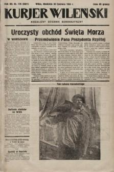 Kurjer Wileński : niezależny dziennik demokratyczny. 1935, nr176