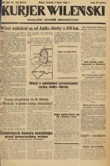 Kurjer Wileński : niezależny dziennik demokratyczny. 1936, nr120