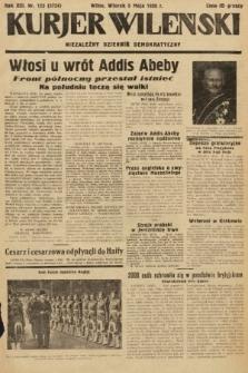 Kurjer Wileński : niezależny dziennik demokratyczny. 1936, nr123