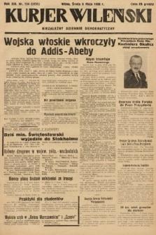 Kurjer Wileński : niezależny dziennik demokratyczny. 1936, nr124