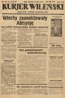 Kurjer Wileński : niezależny dziennik demokratyczny. 1936, nr128