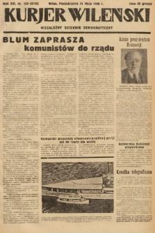 Kurjer Wileński : niezależny dziennik demokratyczny. 1936, nr129