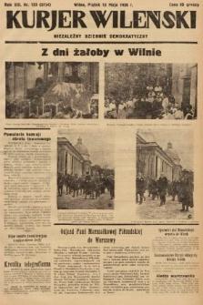 Kurjer Wileński : niezależny dziennik demokratyczny. 1936, nr133