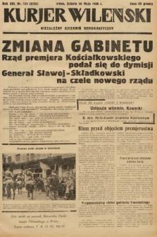 Kurjer Wileński : niezależny dziennik demokratyczny. 1936, nr134