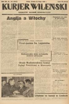Kurjer Wileński : niezależny dziennik demokratyczny. 1936, nr141