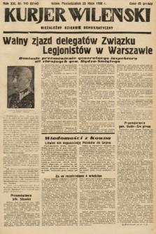 Kurjer Wileński : niezależny dziennik demokratyczny. 1936, nr143