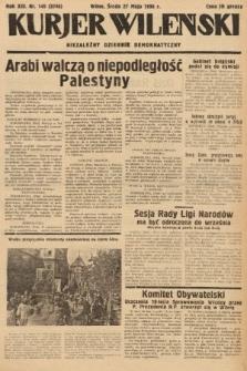 Kurjer Wileński : niezależny dziennik demokratyczny. 1936, nr145