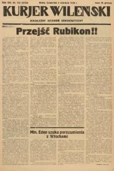 Kurjer Wileński : niezależny dziennik demokratyczny. 1936, nr152