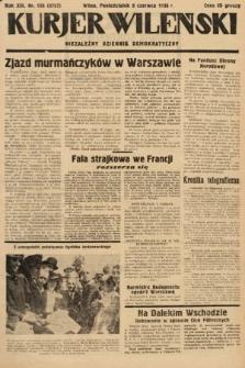 Kurjer Wileński : niezależny dziennik demokratyczny. 1936, nr156