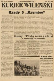 Kurjer Wileński. 1936, nr209