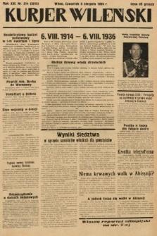 Kurjer Wileński. 1936, nr214