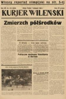 Kurjer Wileński. 1936, nr215