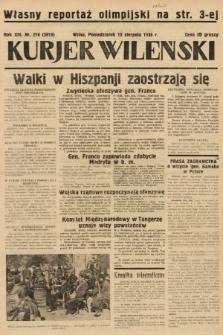 Kurjer Wileński. 1936, nr218