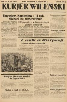 Kurjer Wileński. 1936, nr232