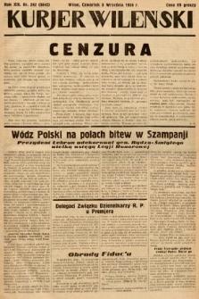 Kurjer Wileński. 1936, nr242