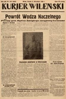 Kurjer Wileński. 1936, nr249