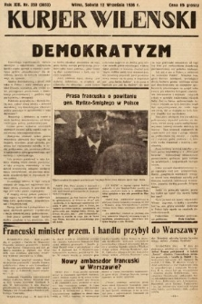 Kurjer Wileński. 1936, nr250