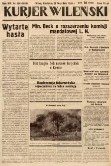 Kurjer Wileński. 1936, nr258